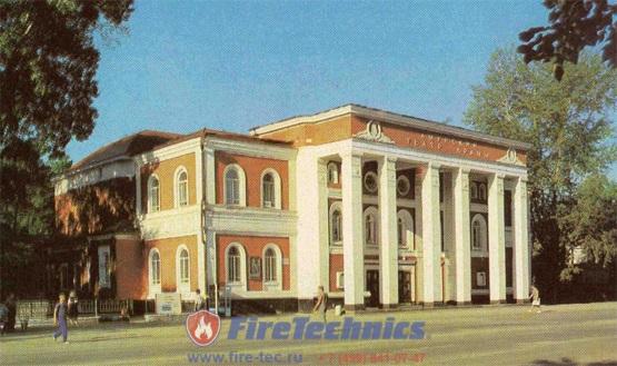 Противопожарные шторы FireTechnics EI120 Premium для Благовещенского драматического театра г. Благовещенск
