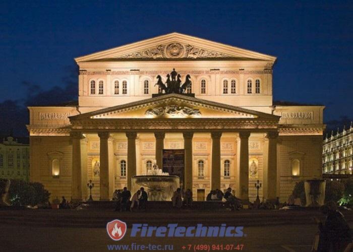 Противопожарные шторы в Большом Театре