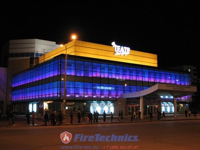 Огне-дымозащитные шторы в театре Эстрады