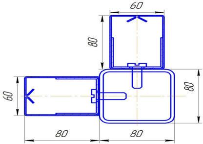 монтаж противопожарных штор к трубе 80-80
