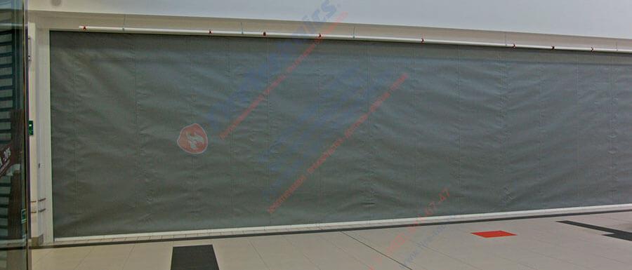 автоматические противопожарные шторы, противопожарные занавесы и завесы