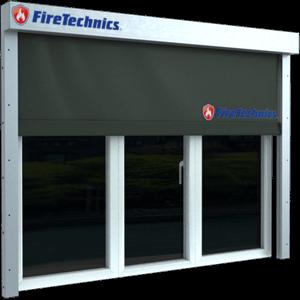 автоматические противопожарные шторы для окон