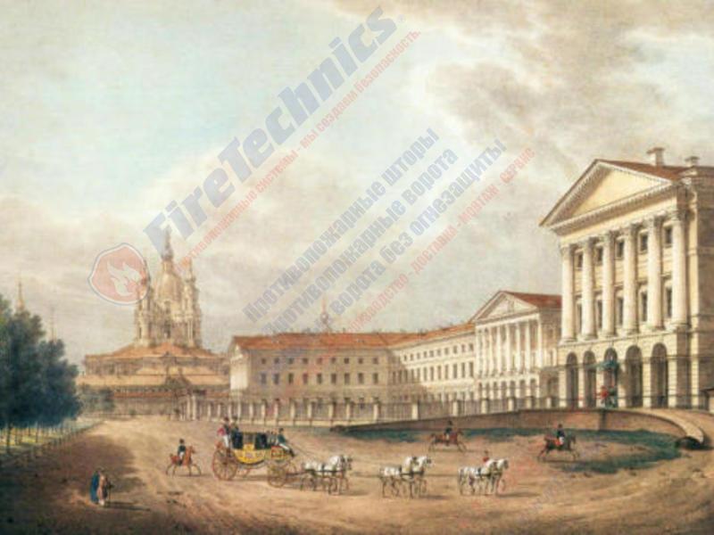 Противопожарные шторы в Санкт-Петербурге