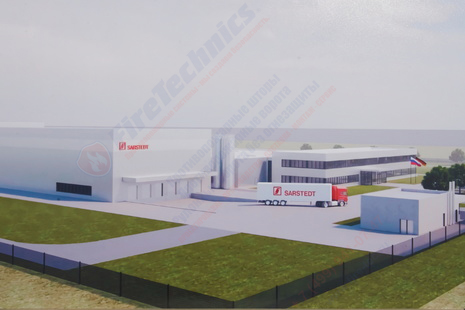 Завод по производству медтехники в Петербурге