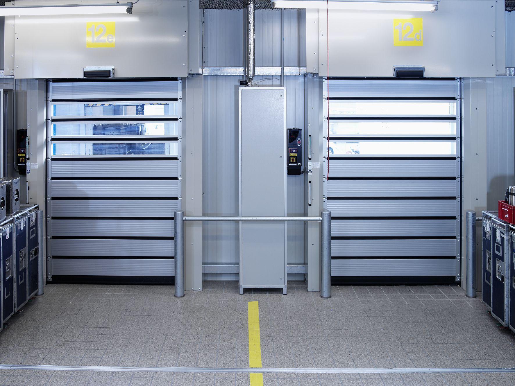Спиральные высокоскоростные ворота EFA-SST